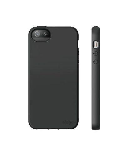 Elago S5 Flex Case за iPhone 5 -  черен - 2