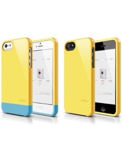 Калъф Elago S5 Glide за iPhone 5, Iphone 5s - жълт - 5