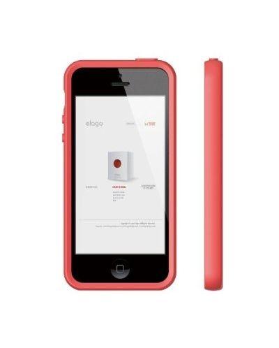 Калъф Elago S5 Flex за iPhone 5, Iphone 5s -  червен - 4
