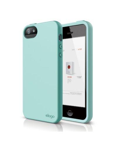 Калъф Elago S5 Flex за iPhone 5, Iphone 5s -  светлозелен - 1
