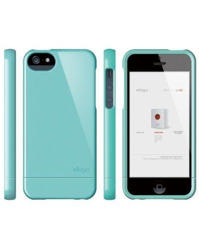 Калъф Elago S5 Glide за iPhone 5, Iphone 5s - светлосин - 2