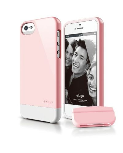 Калъф Elago S5 Glide за iPhone 5, Iphone 5s - светлорозов - 1