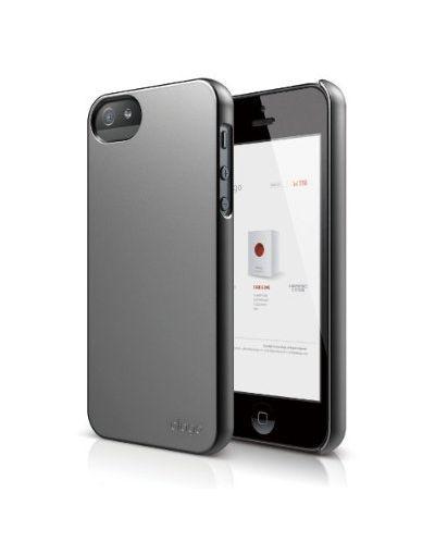 Elago S5 Slim Fit 2 Case за iPhone 5 -  сив - 1