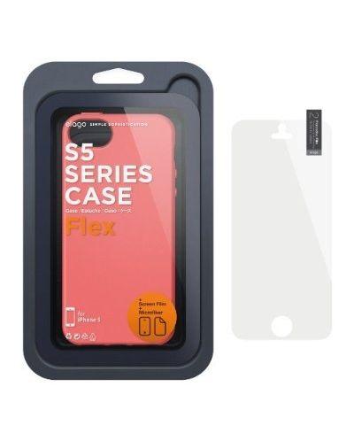 Калъф Elago S5 Flex за iPhone 5, Iphone 5s -  червен - 3