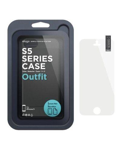 Elago S5 Outfit Aluminum за iPhone 5 -  черен - 6