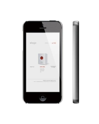 Elago S5 Slim Fit 2 Case за iPhone 5 -  сив - 3
