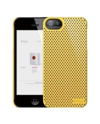 Калъф Elago S5 Breathe за iPhone 5, Iphone 5s -  жълт - 2