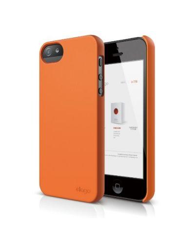Elago S5 Slim Fit 2 Case за iPhone 5 -  оранжев - 1