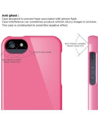 Калъф Elago S5 Glide за iPhone 5, Iphone 5s - тъмнорозов- - 3