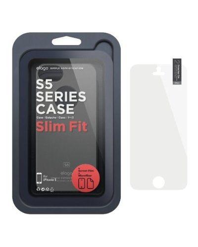 Elago S5 Slim Fit Case за iPhone 5 -  черен - 8