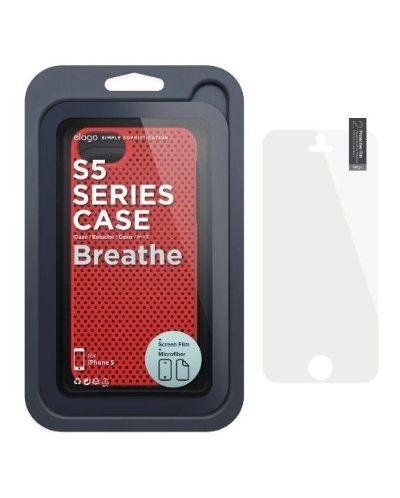 Калъф Elago S5 Breathe за iPhone 5, Iphone 5s -  червен - 6