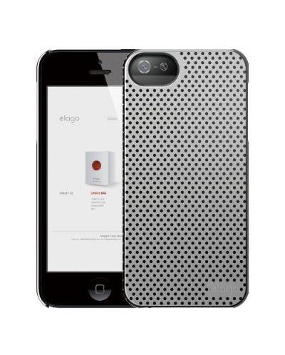 Калъф Elago S5 Breathe за iPhone 5, Iphone 5s -  сив - 2