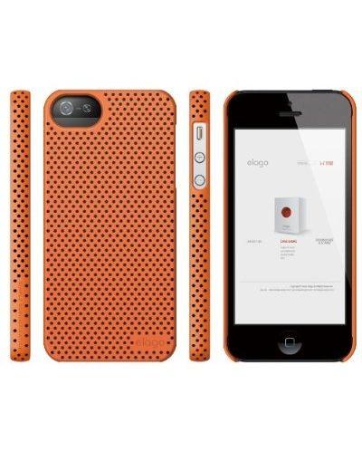 Калъф Elago S5 Breathe за iPhone 5, Iphone 5s -  оранжев - 5