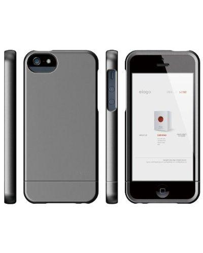 Калъф Elago S5 Glide за iPhone 5, Iphone 5s - тъмносив- - 7
