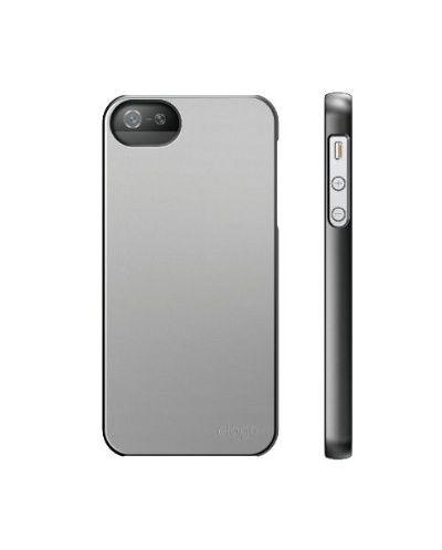 Elago S5 Slim Fit 2 Case за iPhone 5 -  сив - 2