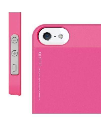 Elago S5 Outfit Aluminum за iPhone 5 -  розов - 2