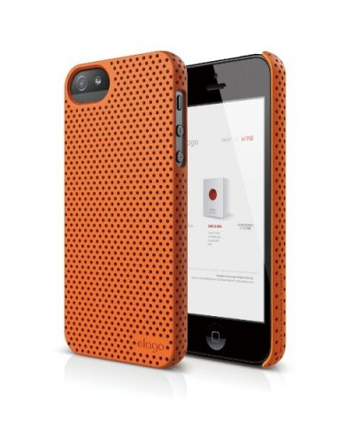 Калъф Elago S5 Breathe за iPhone 5, Iphone 5s -  оранжев - 1