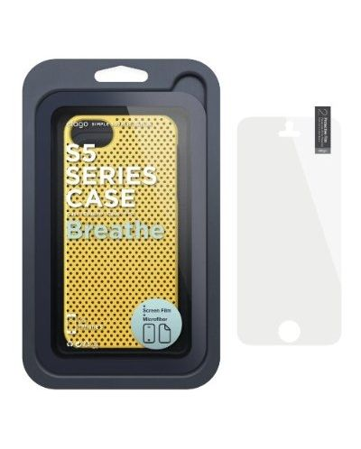 Калъф Elago S5 Breathe за iPhone 5, Iphone 5s -  жълт - 6