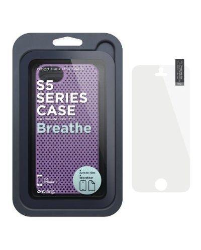 Калъф Elago S5 Breathe за iPhone 5, Iphone 5s -  лилав - 6