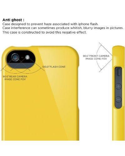 Калъф Elago S5 Glide за iPhone 5, Iphone 5s - жълт - 7