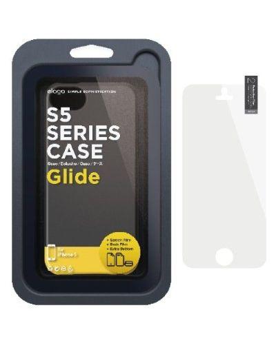 Elago S5 Glide Case за iPhone 5 - черен-мат - 6