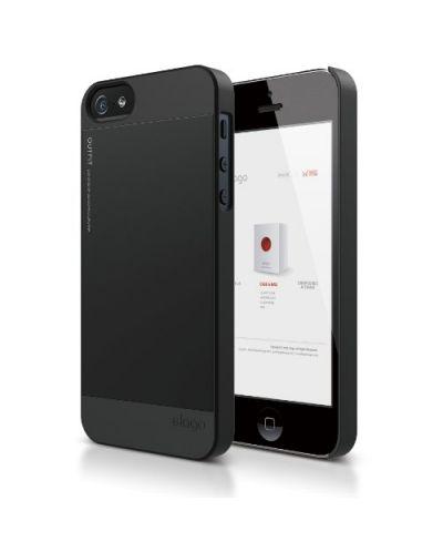 Elago S5 Outfit Aluminum за iPhone 5 -  черен - 1