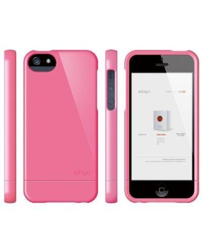 Калъф Elago S5 Glide за iPhone 5, Iphone 5s - тъмнорозов- - 7