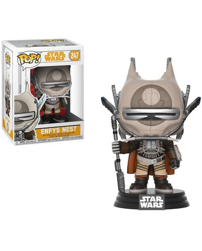 Фигура Funko Pop! Movies: Star Wars - Enfys Nest, #247 - 2
