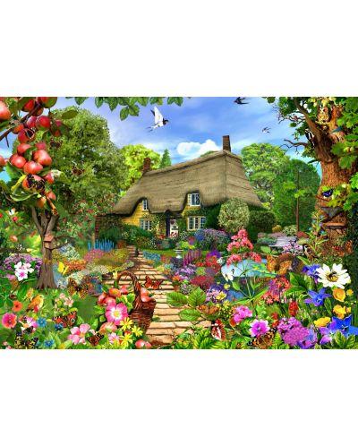 Пъзел Bluebird от 1500 части - Английска селска къща - 1