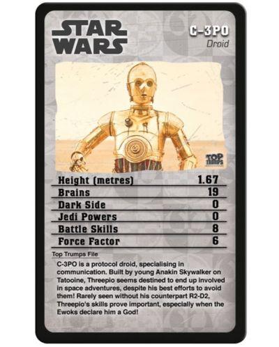 Игра с карти Top Trumps - Star Wars Episodes 4-6 - 2