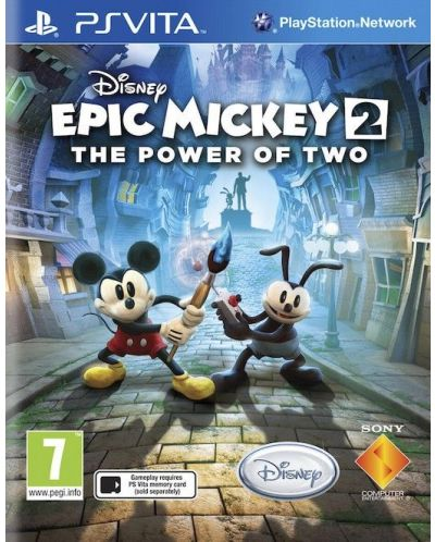 Epic Mickey 2: The Power of Two (PS Vita) - 1