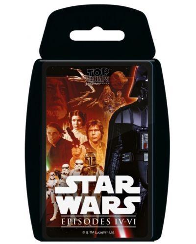 Игра с карти Top Trumps - Star Wars Episodes 4-6 - 1