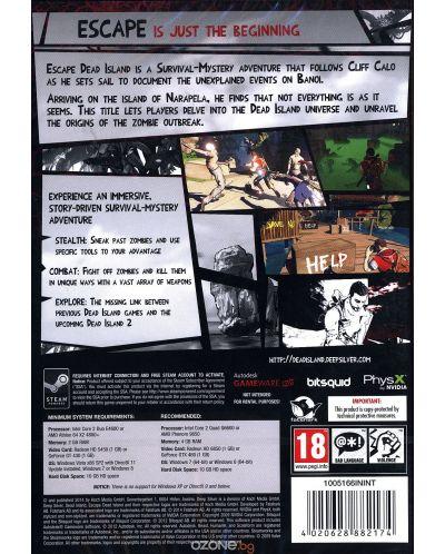 Escape Dead Island (PC) - 4