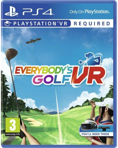 Everybody's Golf VR (PS4 VR) - 1