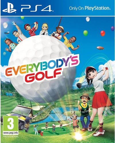 Everybody's Golf (PS4) - 1