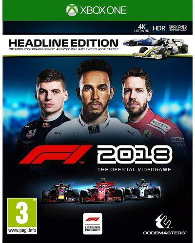F1 2018 Headline Edition (Xbox One) - 1