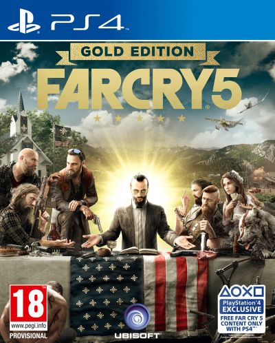 Far Cry 5 Gold (PS4) - 1
