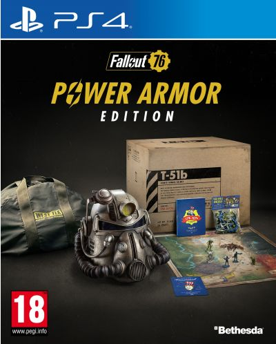 Fallout 76 Power Armor Edition (PS4) - 1