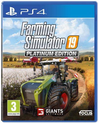Farming Simulator 19 - Platinum Edition (PS4) - 1