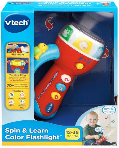 Бебешка играчка Vtech - Музикално фенерче - 7