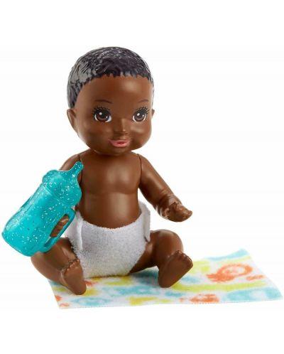 Кукла-бебе Barbie - С шише и одеялце, асортимент - 4