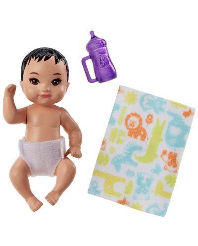 Кукла-бебе Barbie - С шише и одеялце, асортимент - 3