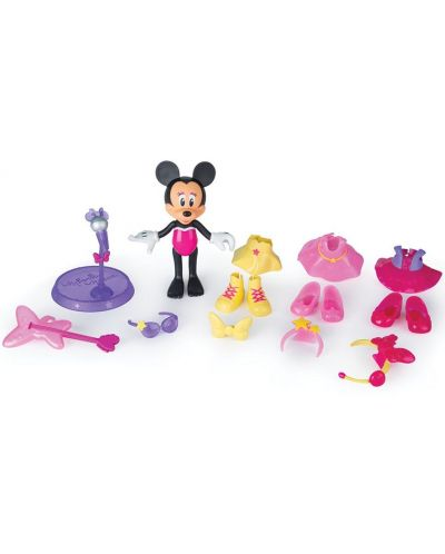 Фигурка IMC Toys - Мини Маус, поп-звезда - 4