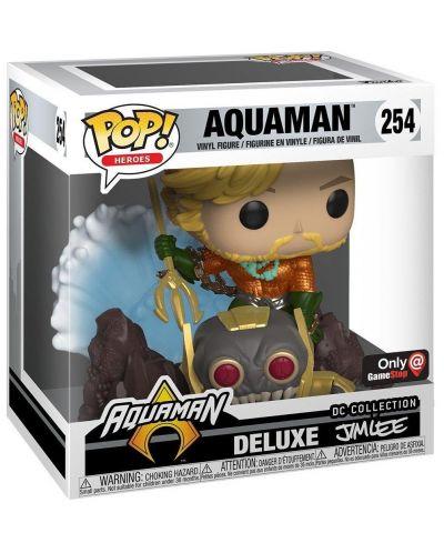 Фигура Funko Pop! Heroes: Aquaman (Deluxe - Jim Lee Collection) #254 - 2