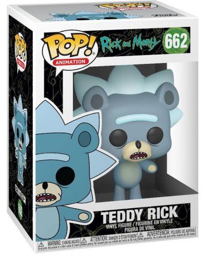 Фигура Funko Pop! Animation: Rick & Morty - Teddy Rick, #662 - 2