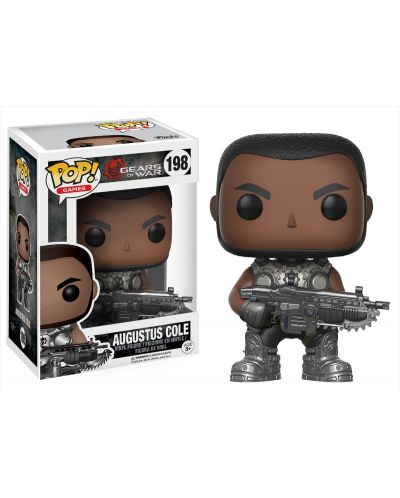 Фигура Funko Pop! Games: Gears Of War - Augustus Cole, #198 - 2