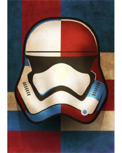 Метален постер Displate - First Order Shapes - 1