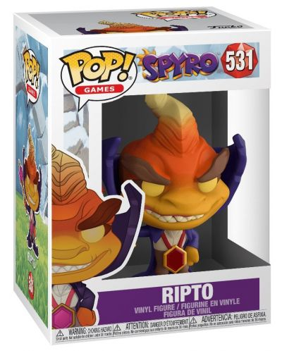 Фигура Funko Pop! Games: Spyro - Ripto, #531 - 2