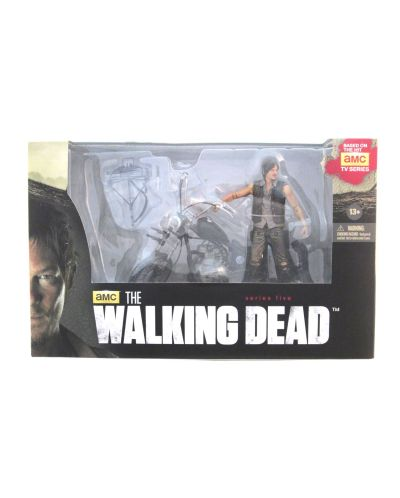 Фигура The Walking Dead - Daryl Dixon with Chopper  - 2