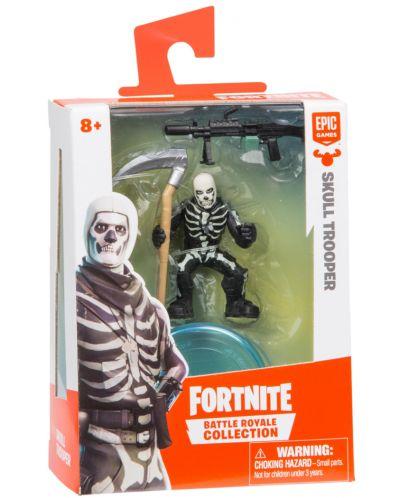 Фигурка Moose Fortnite Battle Royale - Skull Trooper, с 2 оръжия - 1